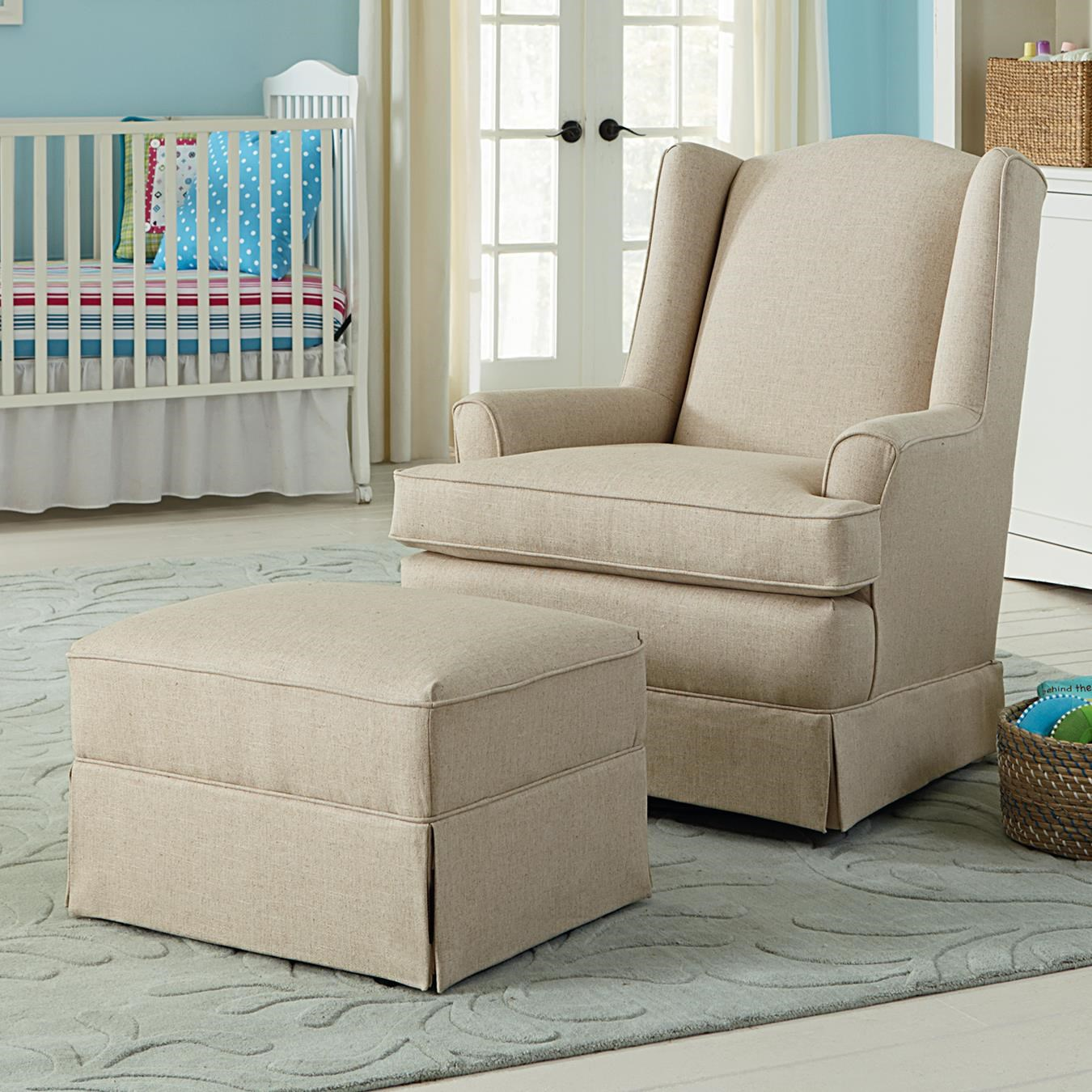 Best Chairs Storytime Series Storytime Swivel Chairs And Ottomans Natasha  Swivel Glider Chair And Gliding Ottoman