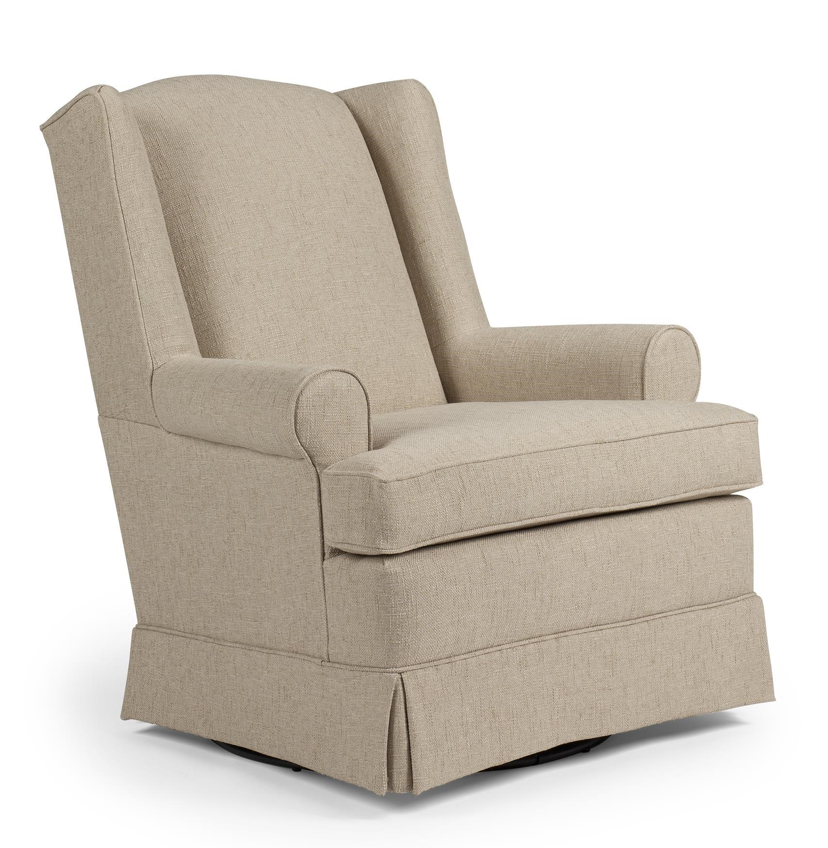 Superbe Best Chairs Storytime Series Storytime Swivel Chairs And Ottomans Roni  Skirted Swivel Glider Chair