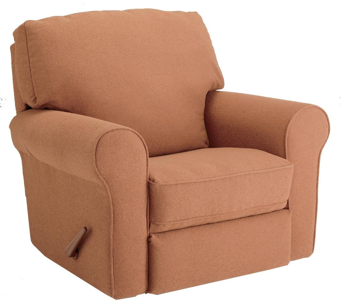 Storytime Recliners Irvington Power Rocker Recliner With Large Rolled Arms  By Best Chairs Storytime Series