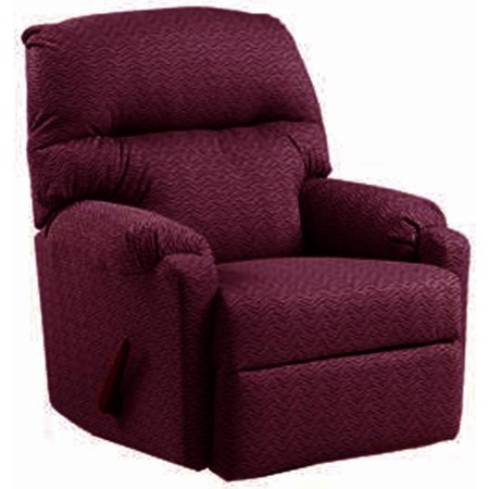 Wine Swivel Glider Recliner
