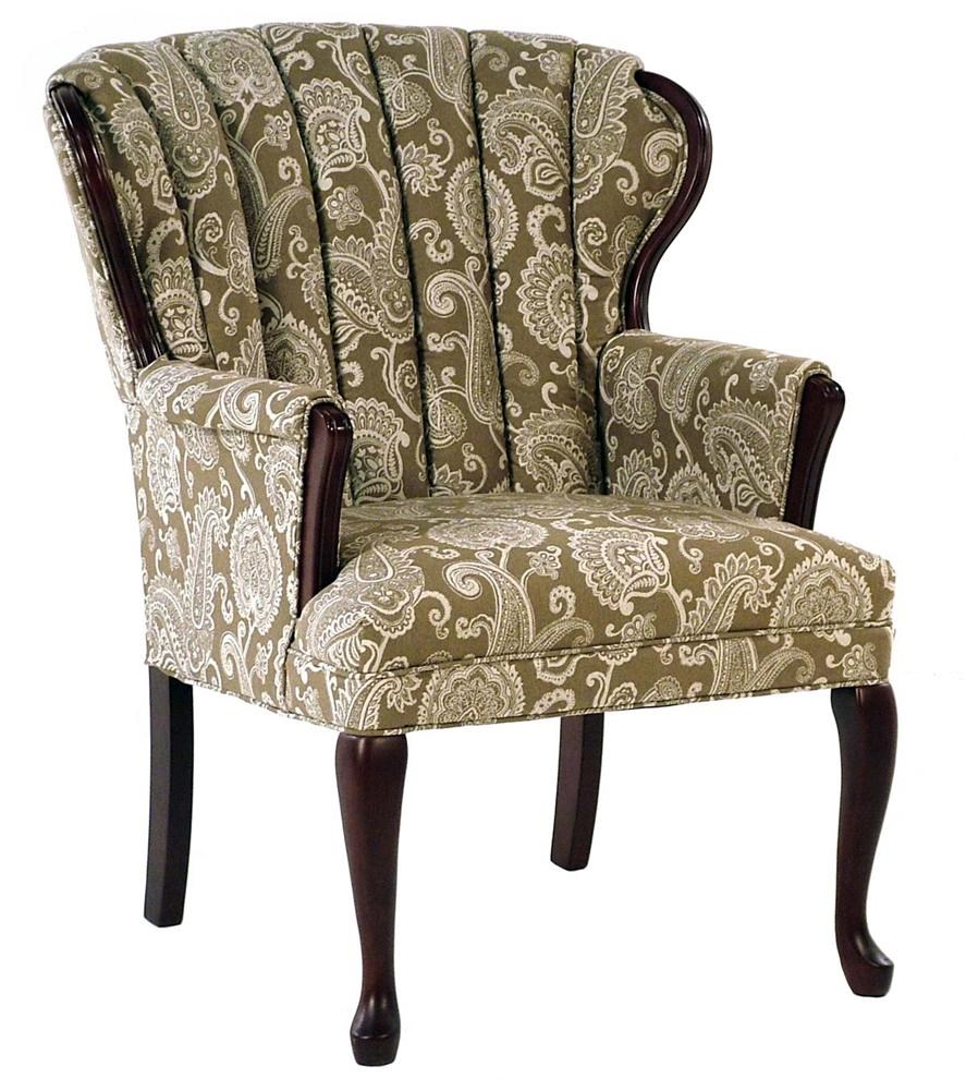 Chairs - Accent Prudence Exposed Wood Accent Chair - Rotmans