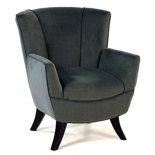 Best Home Furnishings Chairs - Club Flared-Back Club Chair