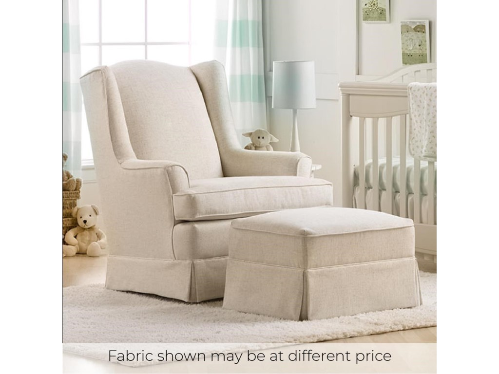 Best Home Furnishings NatashaGlider Chair & Ottoman