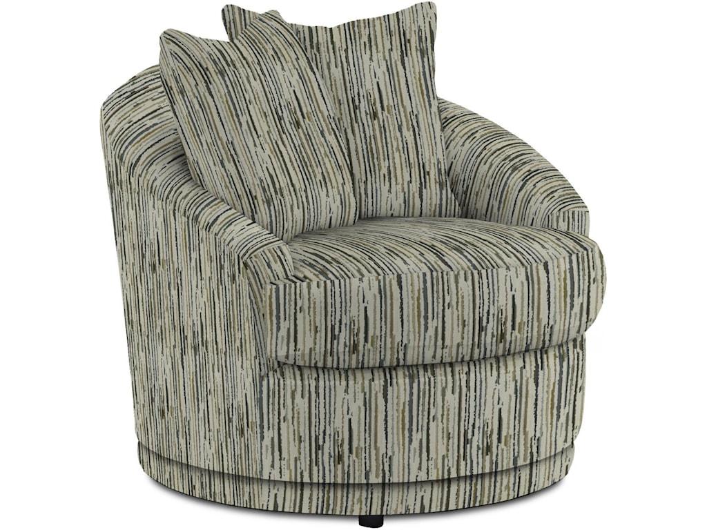 Best Home Furnishings AlannaSwivel Barrel Chair