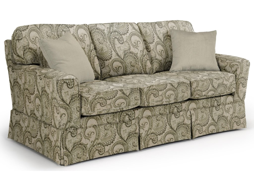 Best Home Furnishings Annabel <b>Custom</b> 3 Over 3 Sofa