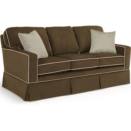Custom 3 Over 3 Sofa