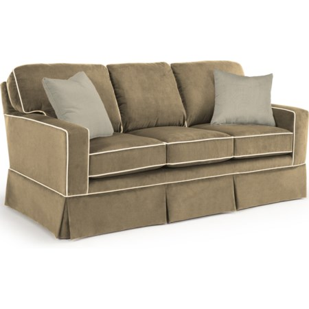 Custom 3 Over 3 Sofa