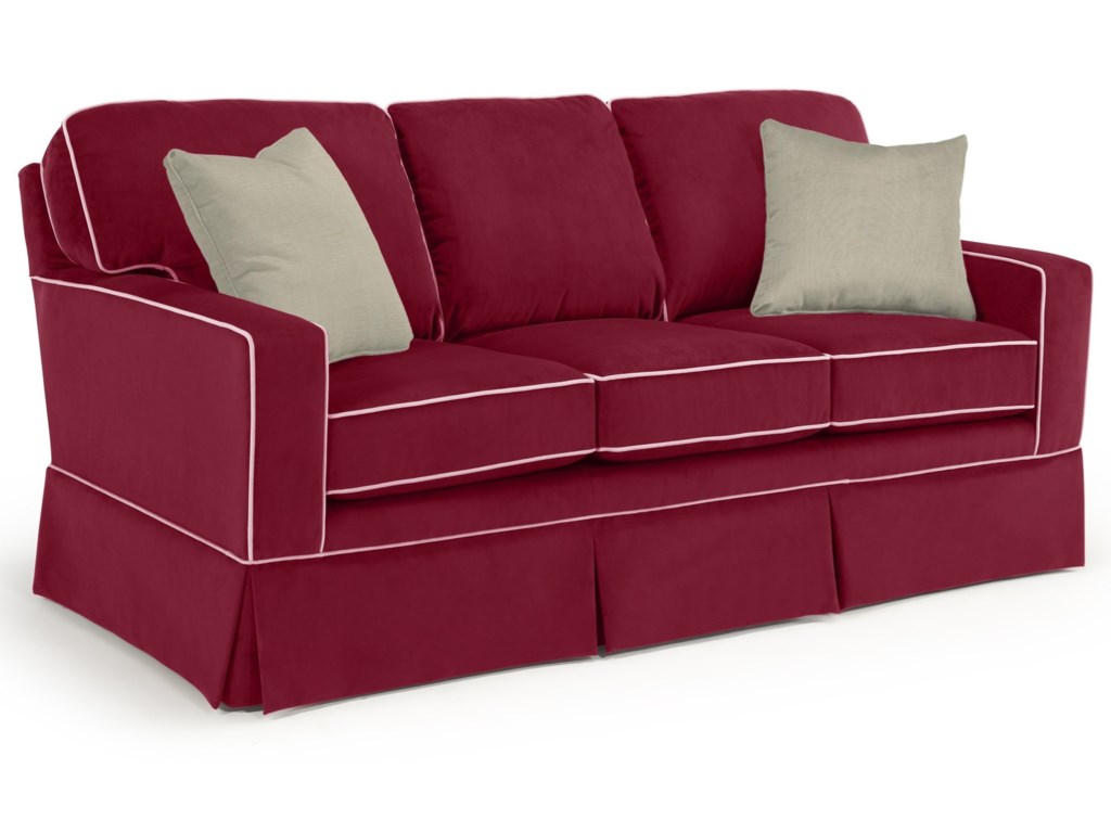Studio 47 Annabel Custom 3 Over 3 Sofa