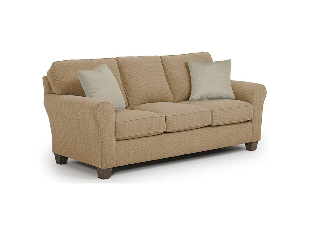Best Home Furnishings Annabel <b>Custom</b> 3 Over 3 Sofa