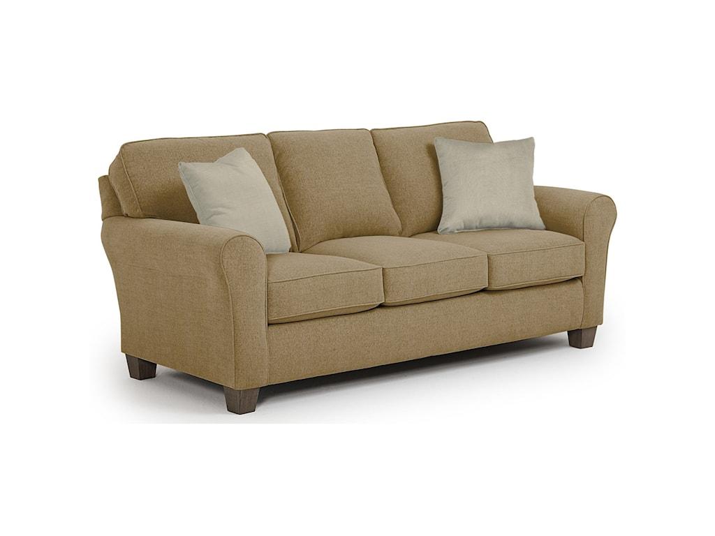 Best Home Furnishings Annabel Custom 3 Over 3 Sofa