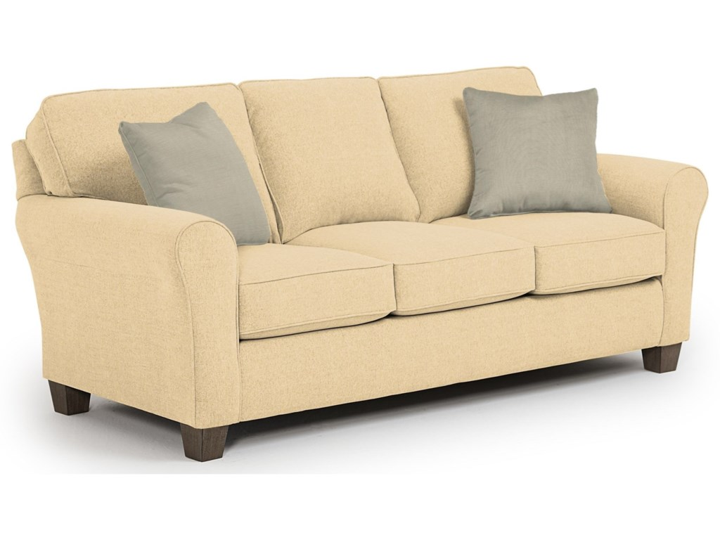Studio 47 Annabel <b>Custom</b> 3 Over 3 Sofa