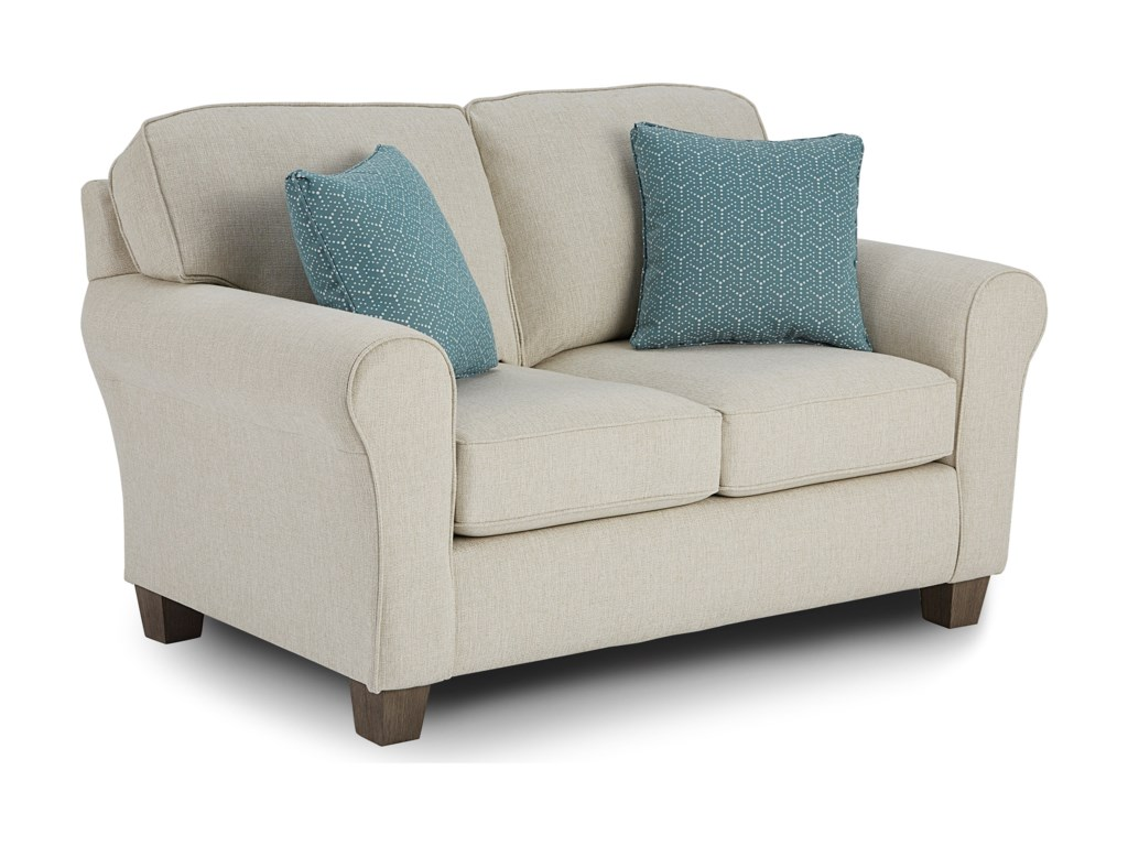 Best Home Furnishings Annabel Custom Loveseat
