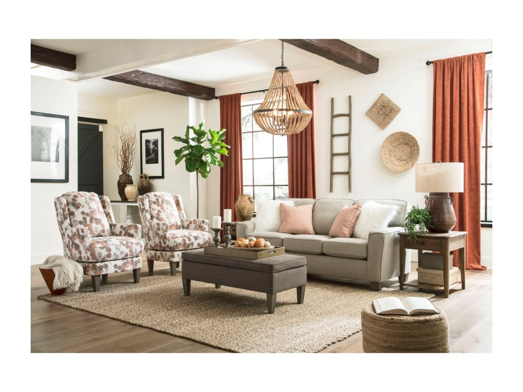 Best Home Furnishings Annabel S81 Customizable Transitional ...
