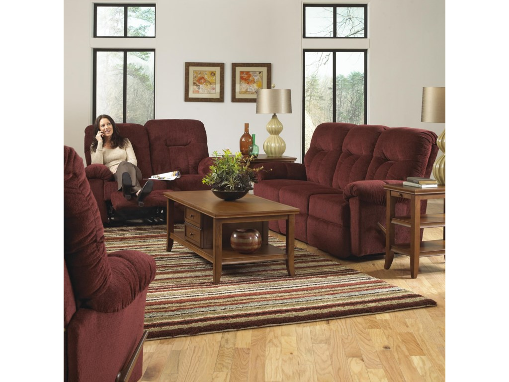 Studio 47 AresPower Reclining Loveseat