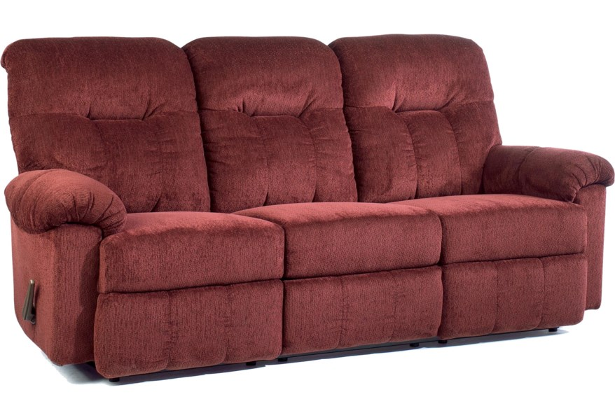 Best Home Furnishings Ares S350RA4 Reclining Sofa | Best ...