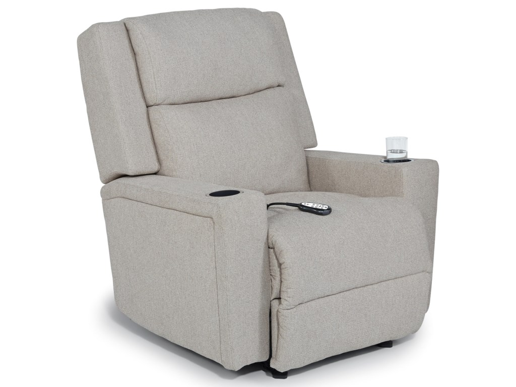 Best Home Furnishings AsherPwr Wall Recliner w/ Pwr Head & Lumbar