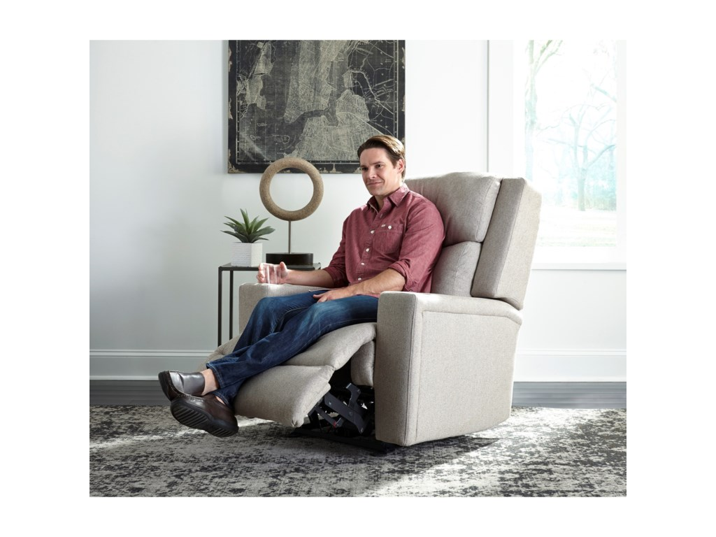 Best Home Furnishings IanPwr Wall Recliner w/ Pwr Head & Lumbar