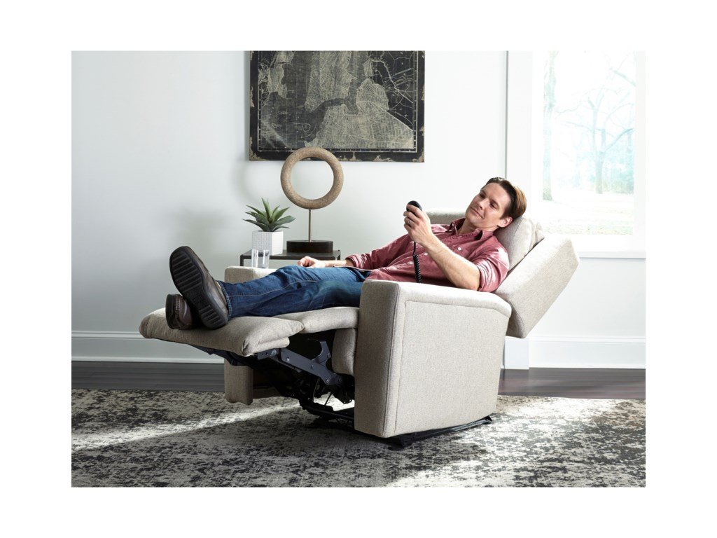 Best Home Furnishings AsherPwr Rocker Recliner w/ Pwr Head & Lumbar