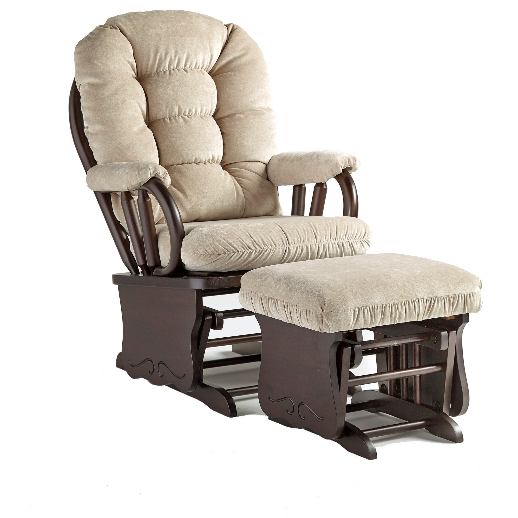 Best Home Furnishings ColbyGlide Rocker And Ottoman