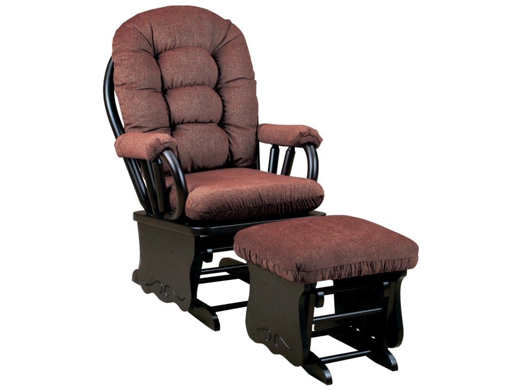 Shown with Coordinating Glider Ottoman