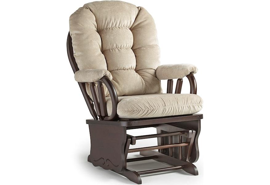 on sale 94852 4dda1 Best Home Furnishings Bedazzle C8107 Glide Rocker | Best ...