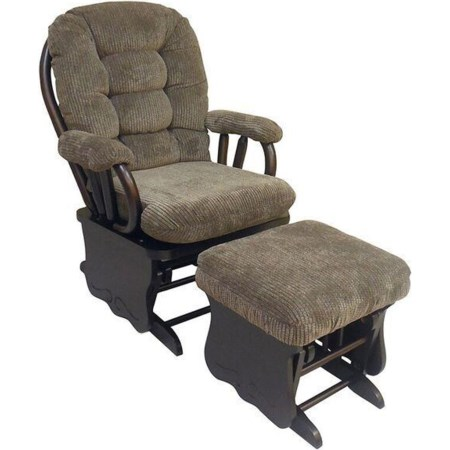 Glide Rocker and Ottoman