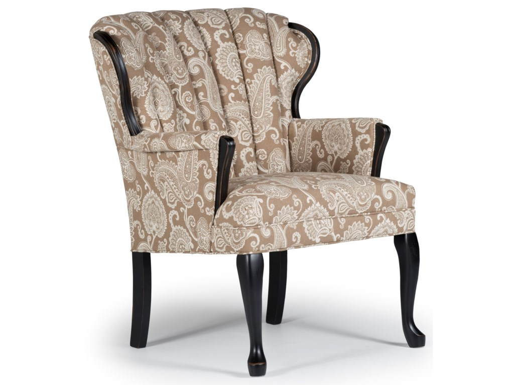 Best Home Furnishings Accent ChairsPrudence Exposed Wood Accent Chair