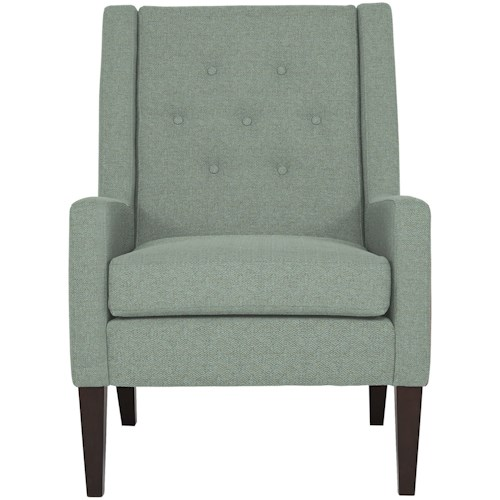 Best Home Furnishings Accent Chairs Contemporary Tufted Chair