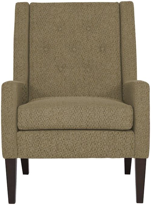 Best Home Furnishings Chairs - Accent Contemporary Tufted Chair