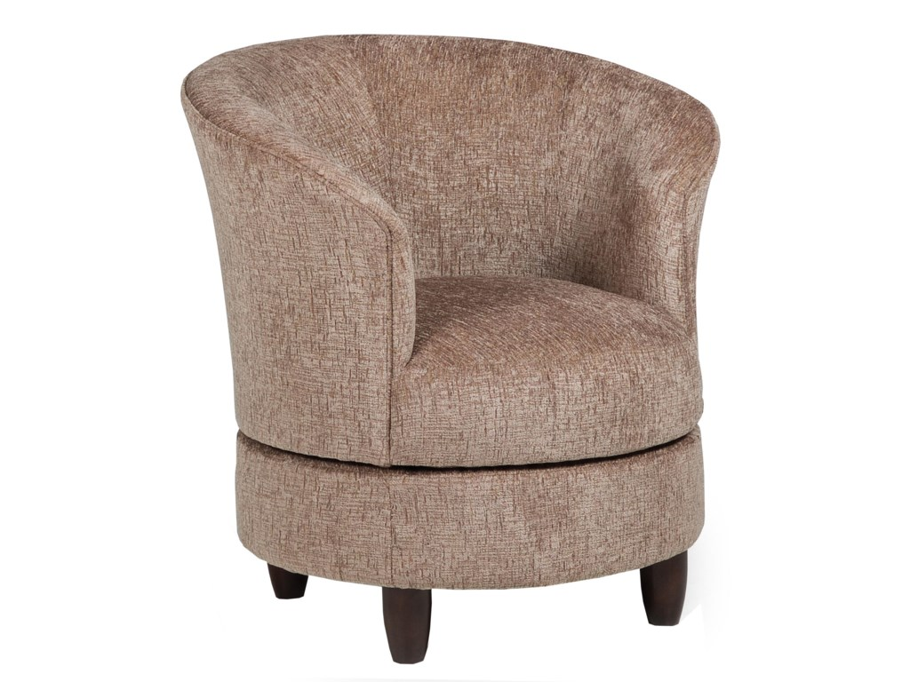 Best Home Furnishings Accent ChairsSwivel Barrel Chair
