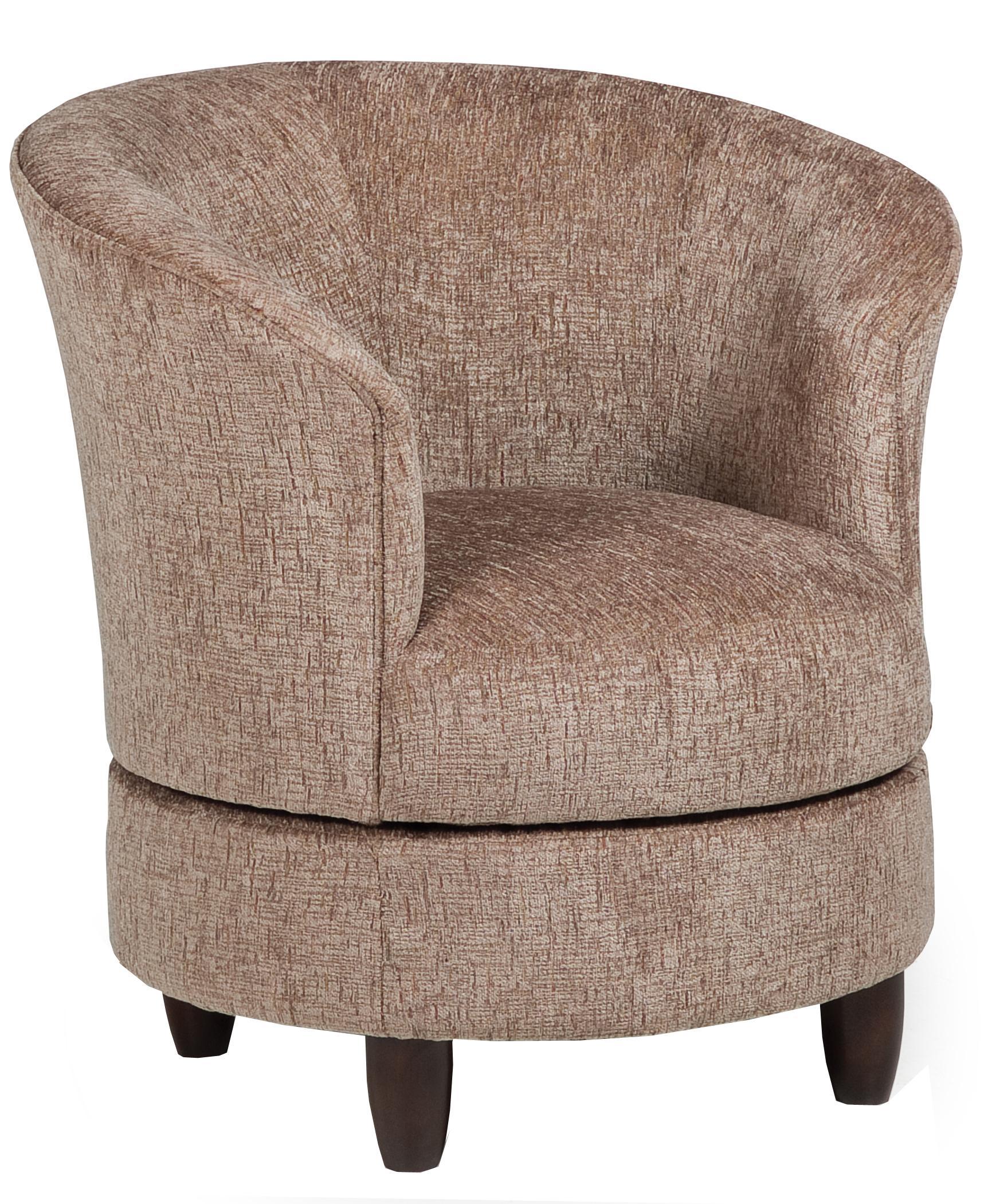 Genial Best Home Furnishings Dysis Swivel Barrel Chair | Rotmans ...