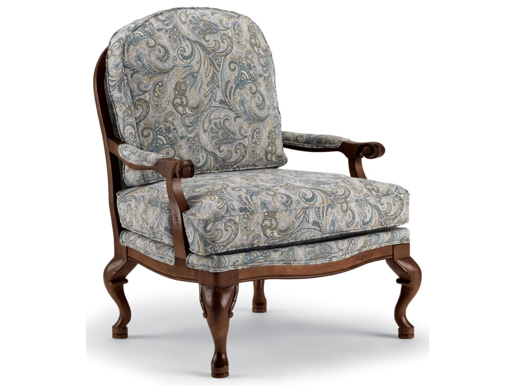 Best Home Furnishings Accent ChairsCogan Exposed Wood Accent Chair