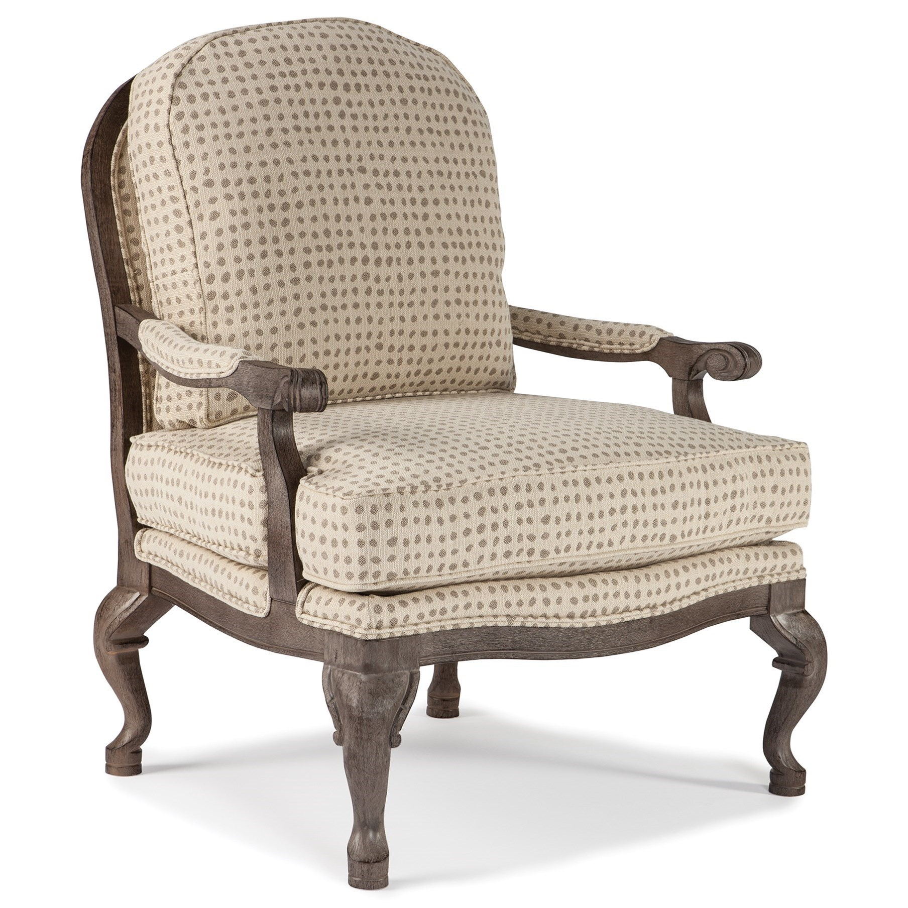 Best Home Furnishings Chairs   AccentCogan Exposed Wood Accent Chair