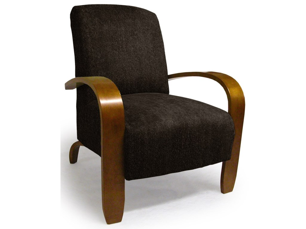 Best Home Furnishings Accent ChairsMaravu Exposed Wood Accent Chair