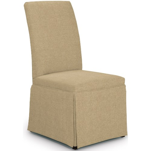 Best Home Furnishings Chairs - Dining Hazel Skirted Dining Chair
