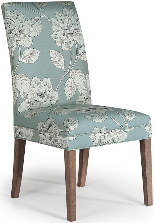 Best Home Furnishings Chairs - Dining Odell Parsons Side Chair