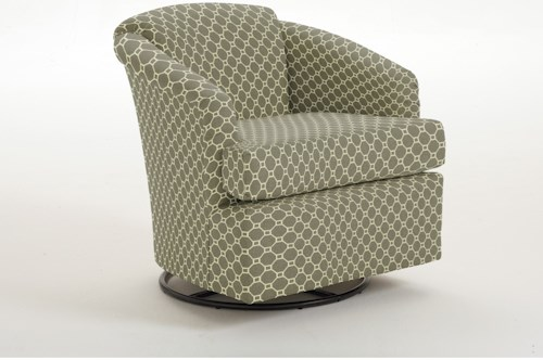 Best Home Furnishings Swivels Cass Swivel Glider
