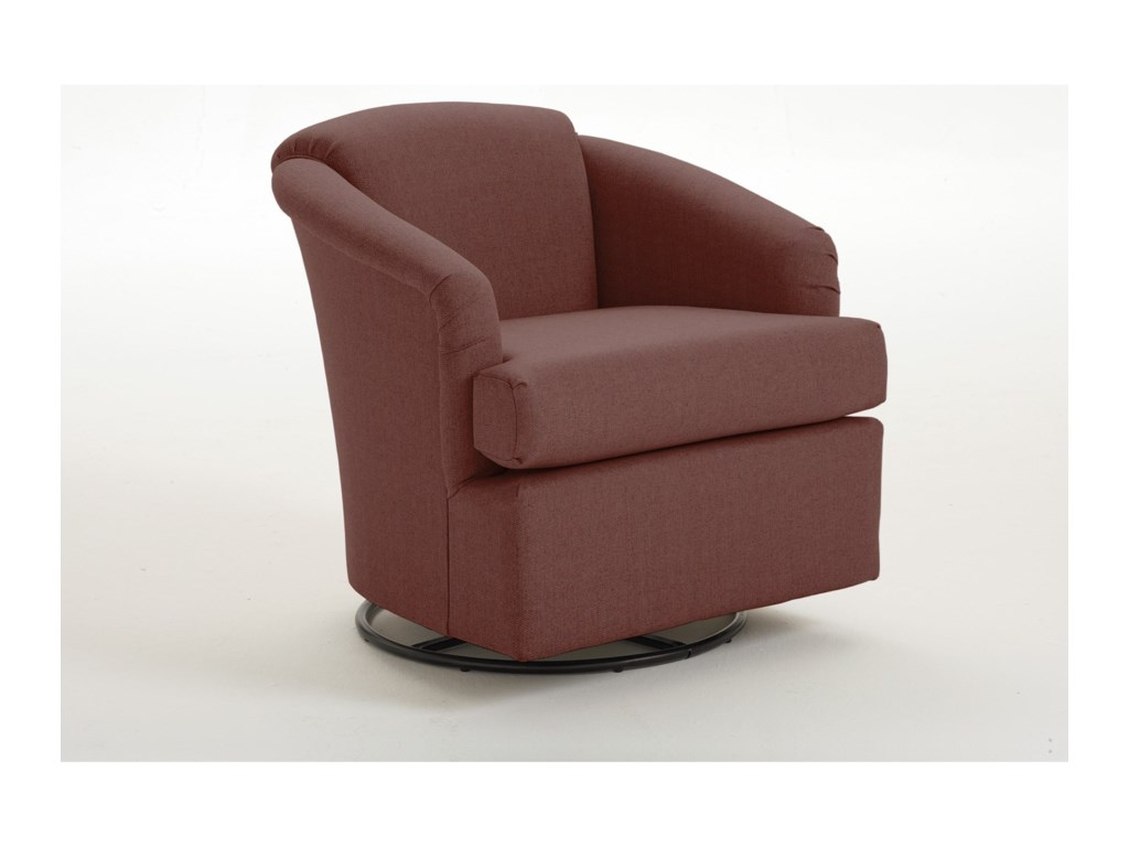 Best Home Furnishings CassCass Swivel Chair