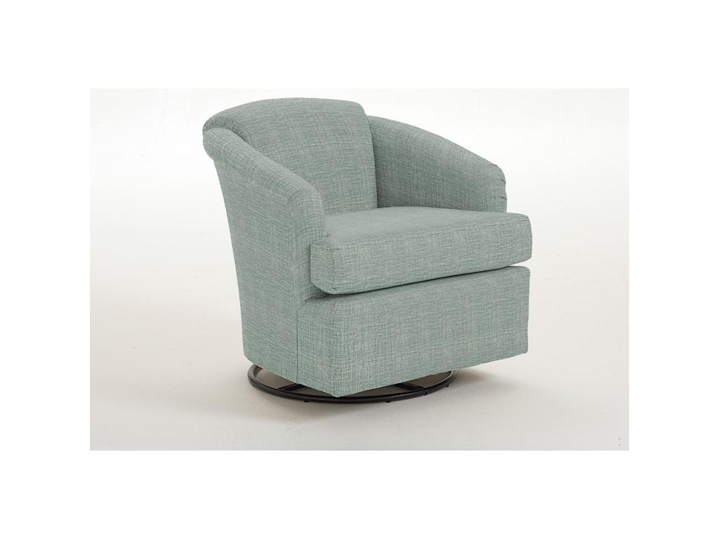 Best Home Furnishings CassCass Swivel Chair