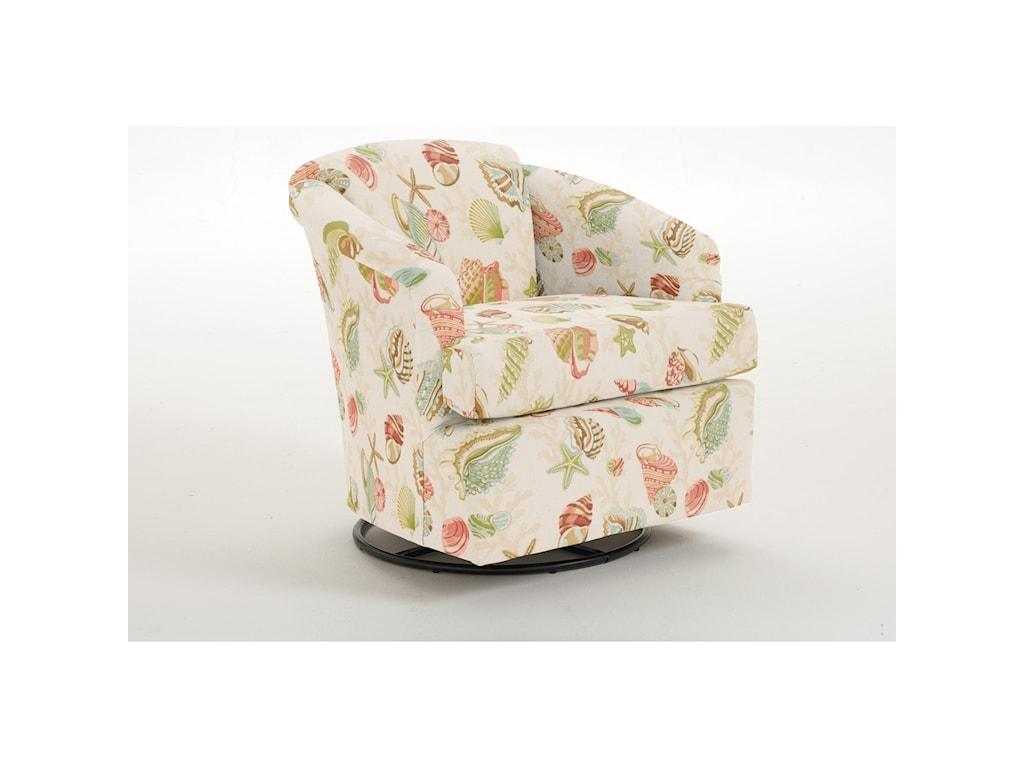 Best Home Furnishings SwivelsCass Swivel Chair