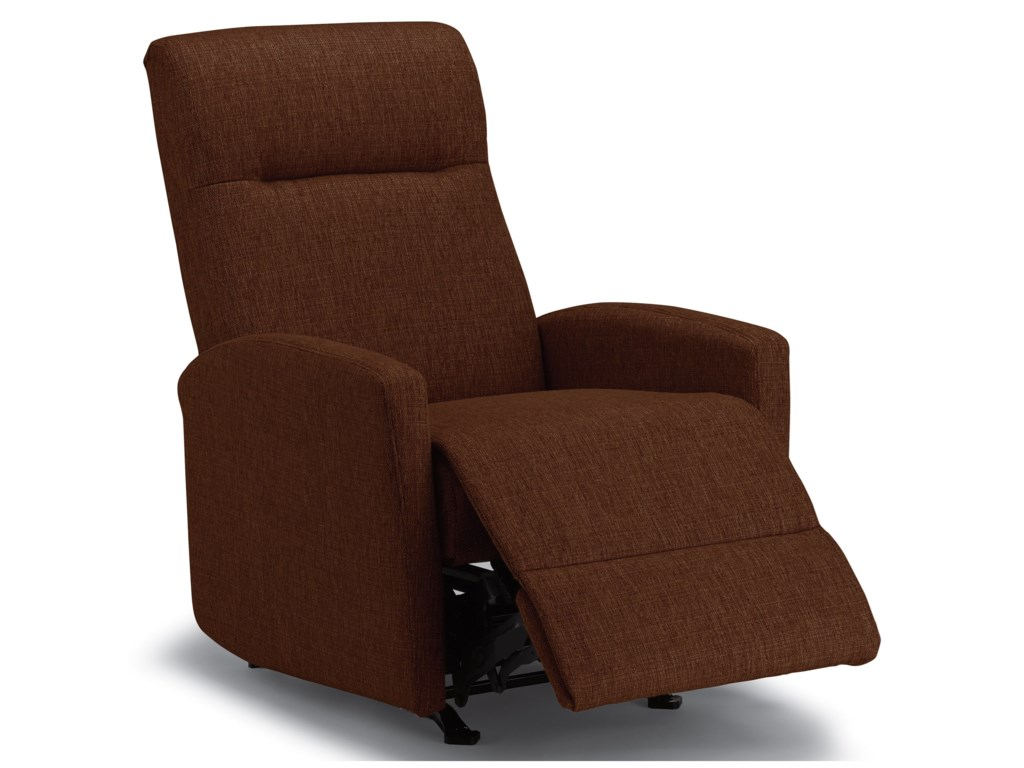 Best Home Furnishings Best Xpress - ArnoldPower Space Saver Recliner