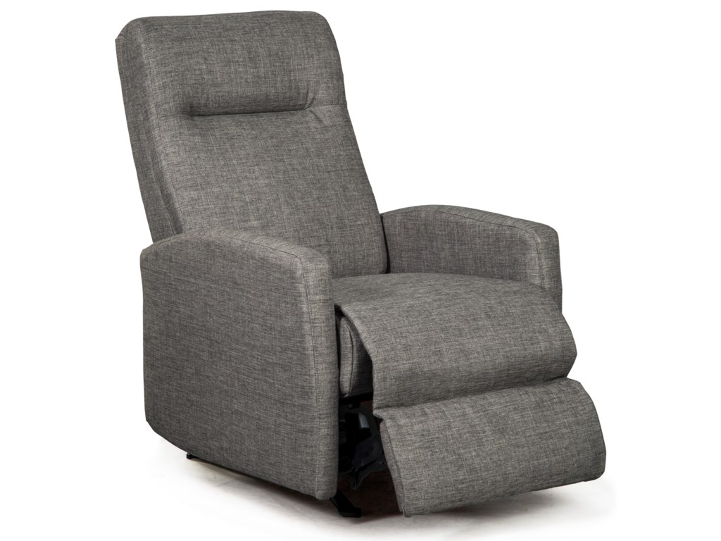 Best Home Furnishings Best Xpress - ArnoldSpace Saver Recliner w/ Inside Handle