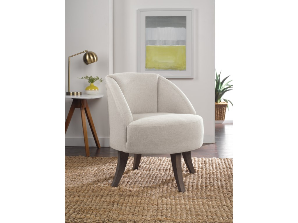 Best Home Furnishings Best Xpress - HylantSwivel Barrel Chair