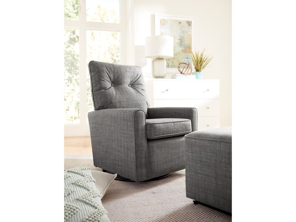 Best Home Furnishings Best Xpress - PhyliciaSwivel Glider Chair