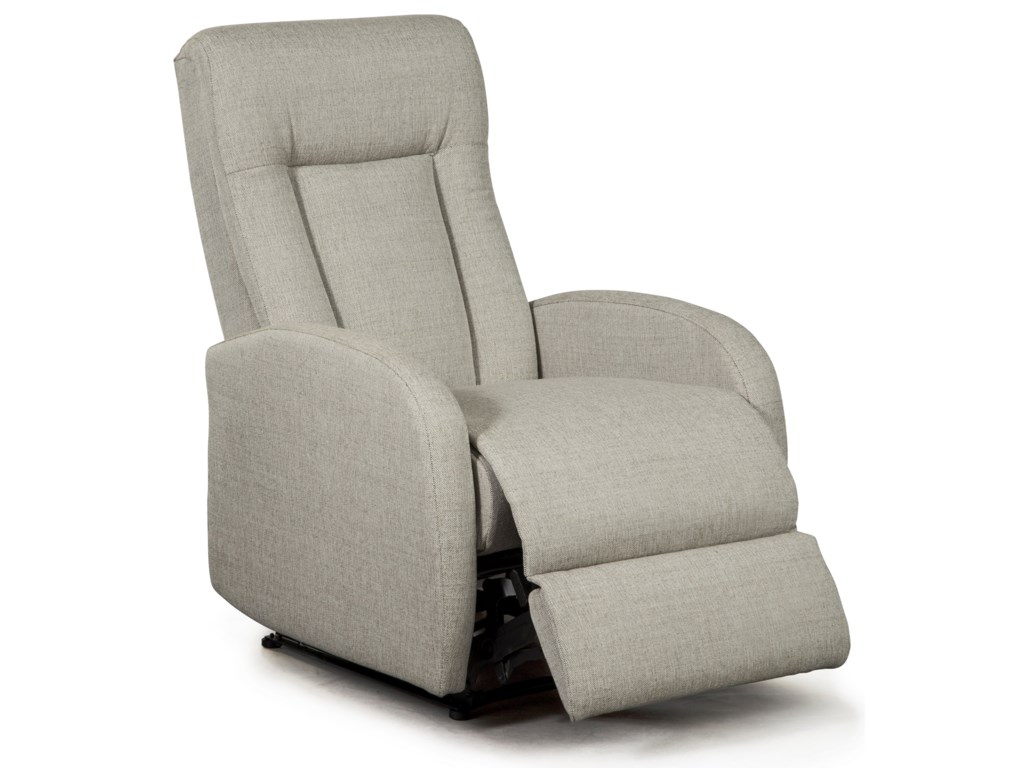 Best Home Furnishings Best Xpress - RayneSpace Saver Recliner w/ Inside Handle