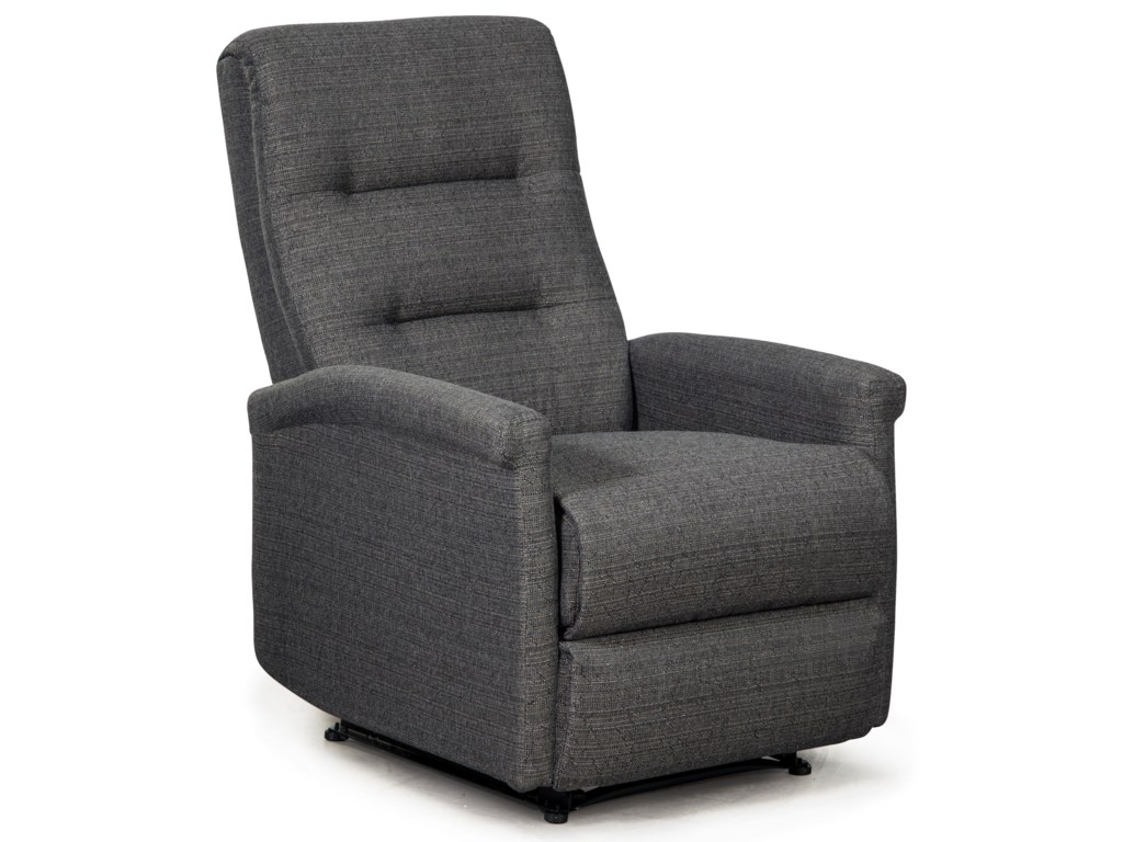 Best Home Furnishings Best Xpress - TyreeSpace Saver Recliner w/ Inside Handle