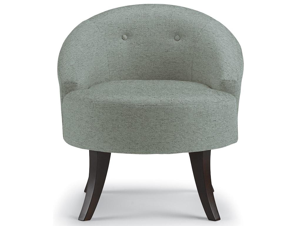 Best Home Furnishings Best Xpress - VannSwivel Barrel Chair