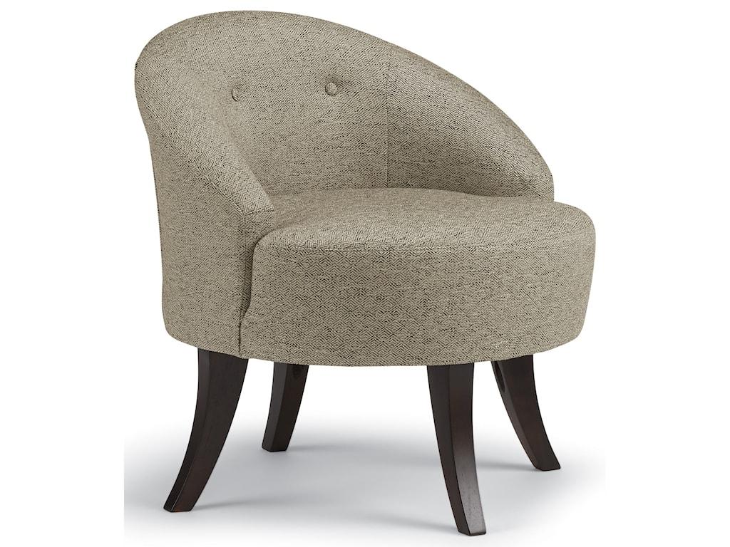 Best Home Furnishings VannSwivel Barrel Chair