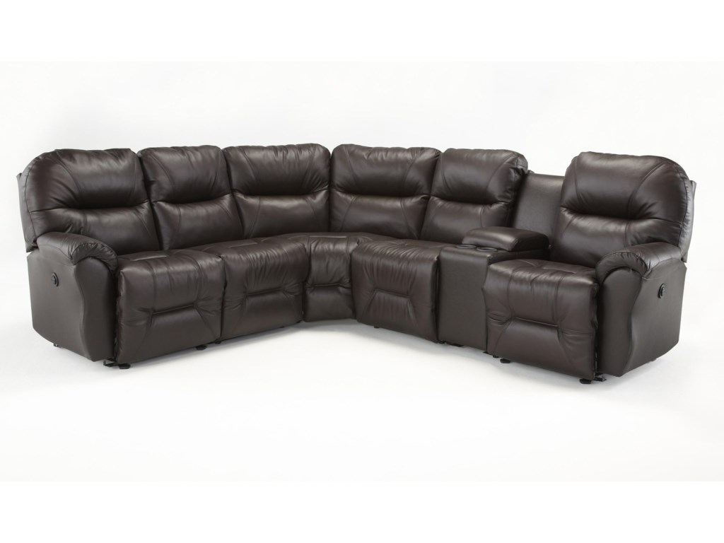 Best Home Furnishings Bodie6 Pc Power Reclining Sectional Sofa