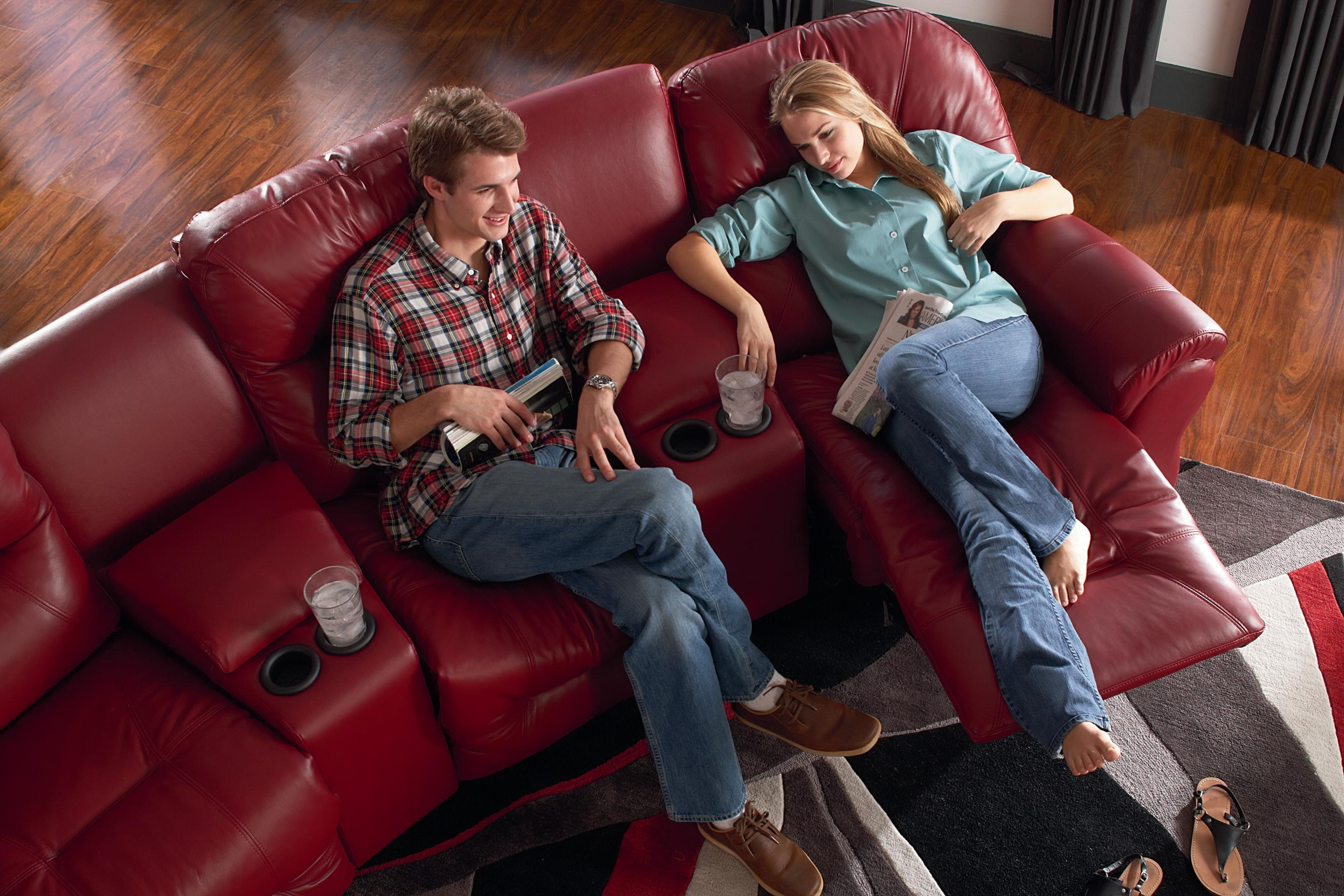 Best Home Furnishings Bodie 4-Seater Power Reclining Home Theater Group : home theater power recliner - islam-shia.org